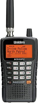 Uniden BCD325P2 Handheld TrunkTracker V Scanner. 25, 000 Dynamically Allocated Ch