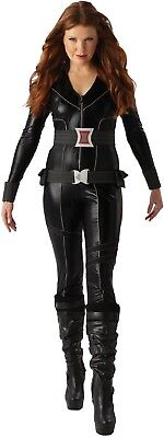 Damen Black Widow Avengers Marvel Hero Karneval Kostüm - Black Widow Avengers Outfit
