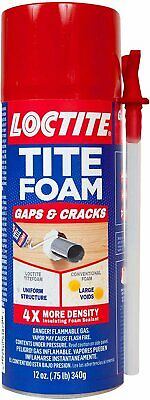 Loctite Titefoam Insulating Foam Sealant Case Of Twelve 12 Ounce Cans...