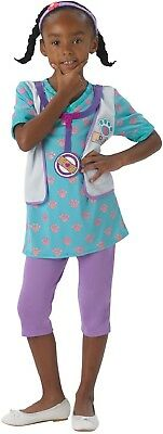 Mädchen Disney Doc Mcstuffins Arzt Pet Vet Büchertag Kostüm Kleid Outfit ()