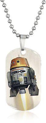 Star Wars Rebel Chopper Dog Tag Pendant Necklace