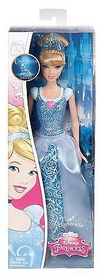 Disney Princess Sparkle Cinderella Doll - CFB72 - New