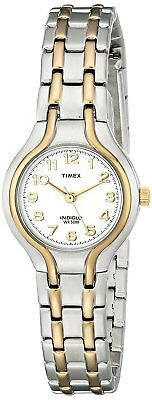 New Timex Women's Indiglo Dress Two Tone Watch T27191