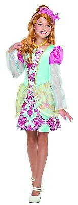 Ever After High Costumes (Ever After High Ashlynn Ella Costume - A Natural Beauty - Size: Large)