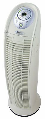 Swirl Whispure True HEPA Portable 3-Speed Tower Air Purifier Cleaner