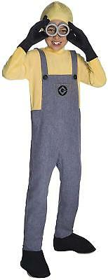Rubie's Despicable Me 3 Child's Deluxe Minion Dave Costume, Medium