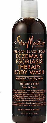 Shea Moisture African Black Soap Eczema Psoriasis Medicated