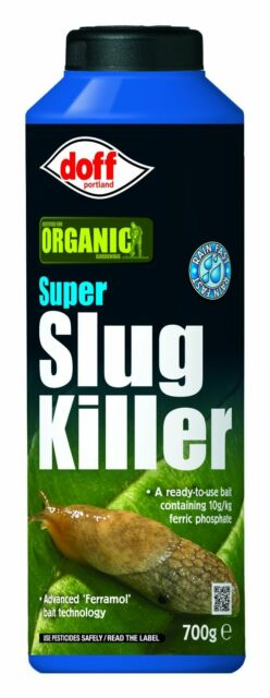 Doff Super Slug Killer 700G Organic Gardening Neudorff Formula FREE POSTAGE