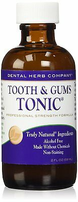 Tooth   Gums Tonic Travel Size By Dental Herb Company