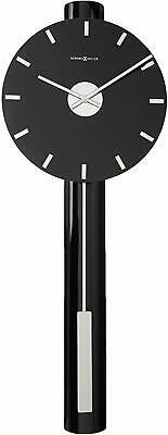 Howard Miller Hudson Wall Clock 625-403 – Contemporary Nickel, Quartz Movement