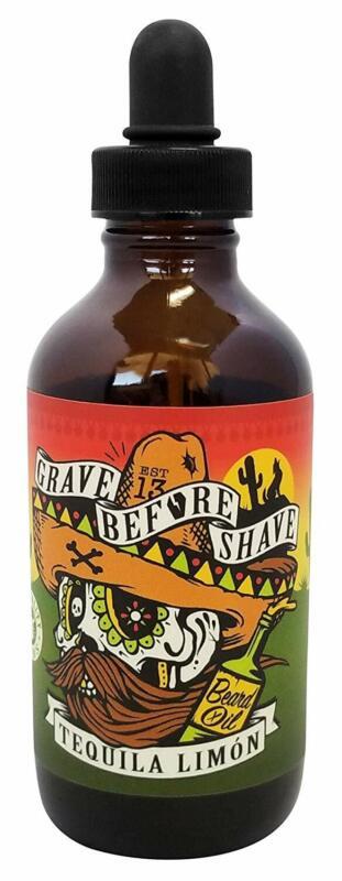 Grave Before Shave Beard Oil  4 Oz. Bottle