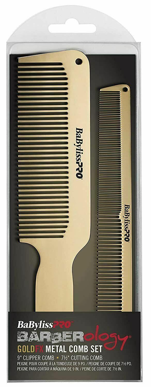 barberology rosefx bcombset2rg metal comb set