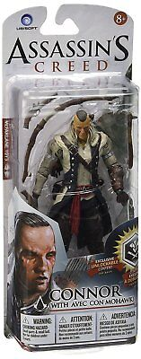 Assassins Creed Connor (Brand New McFarlane Assassins Creed Series 2 CONNOR WITH MOHAWK Figure)