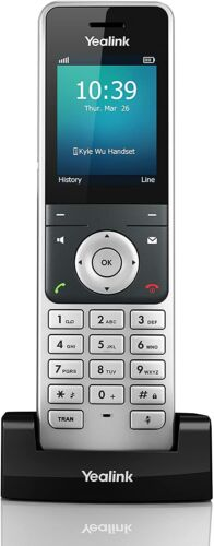 NEW! - Yealink YEA-W56HV - HD DECT Handset for Cordless VoIP Phone and Device