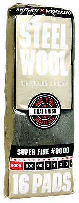 Rhodes American Steel Wool Grade 0000 - Super Fine Rhodes Steel Wool