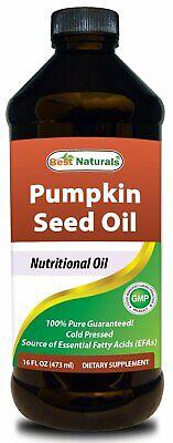 Best Naturals Pumpkin Seed Oil 16 fl