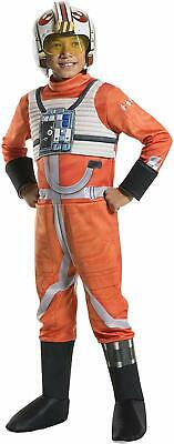 Kids X Wing Fighter Costume (Rubie's Costume Kids Classic Star Wars Deluxe X Wing Fighter Pilot)