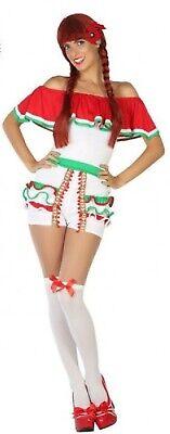 Damen Sexy Mexikanisch Senorita Karneval Jungesellinnenabschied Party Kostüm UK