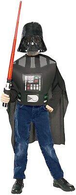 Kinder Star Wars Darth Vader + Lightsaber Tv Film Kostüm Kleid - Filmstar Kostüm Kinder