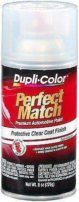 Duplicolor BCL0125 Perfect Match Clear Top Coat  8 oz. Aerosol Spray Paint  (Clear Coat Spray Paint)