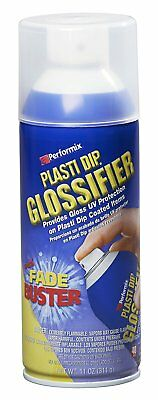 Performix Plasti Dip Glossifier Clear Provides Gloss Uv Protection Aerosol Spray