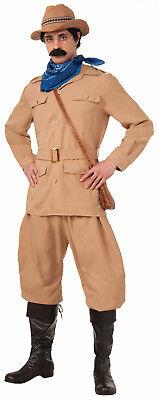 Theodore Roosevelt Costume Teddy Night Museum Robin Williams Deluxe Adult (Teddy Roosevelt Costume)