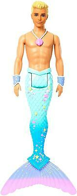 Barbie Dreamtopia Merman Ken Barbie Dress Up Doll