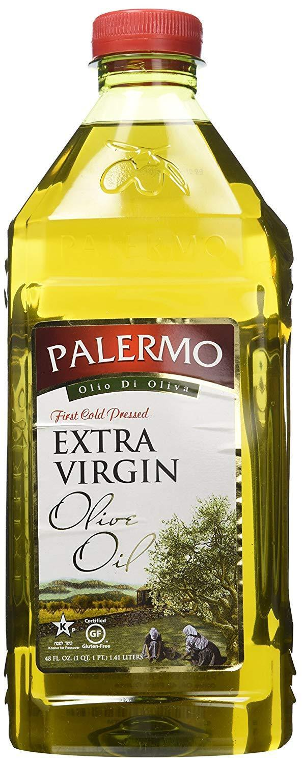 Palermo First Cold Pressed Extra Virgin Olive Oil 48 oz.