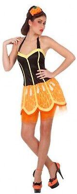 Essen Sommer Tropisch Henne Do Kostüm Kleid Outfit (Orange-frucht Kostüm)