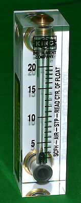 King Instrument Model 7520 Rotameter 75201102c07 New