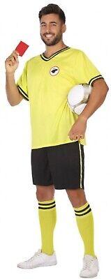 Herren Fußball Schiedsrichter Sport Junggesellenabschied Karneval Kostüm (Schiedsrichter Kostüm Junge)