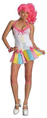 Candy Raver Halloween Costume (Secret Wishes Sexy Candy Girl Ravers Emo Dancer Costume)