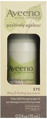 Aveeno - Facial Moisturizers Positively Ageless Lifting Firming Eye Cream 0.5