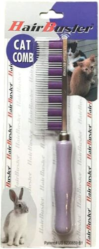 Bunny Gear The Original HairBuster Comb - DeShedding for Rabbits, Dogs & Cats