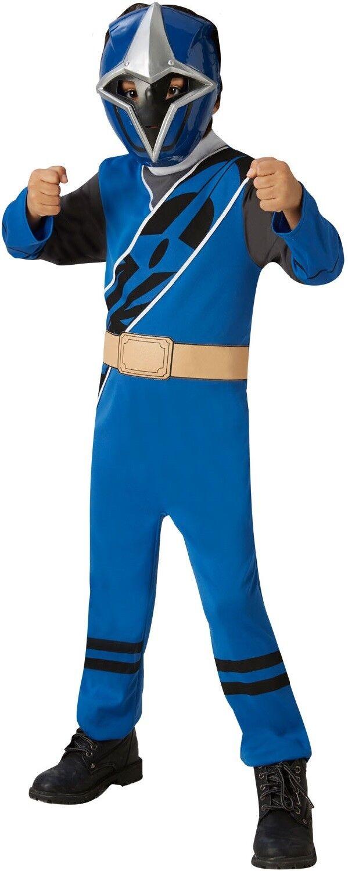Boys Girls Red Pink Blue Power Ranger Ninja Halloween Fancy Dress Costume Outfit