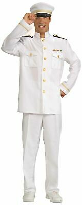 navy officer white uniform military mens halloween costume (Halloween Cruise)