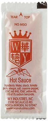Chinese Hot Sauce (HOT SAUCE INDIVIDUAL PACKET , WY BRAND CHINESE HOT )