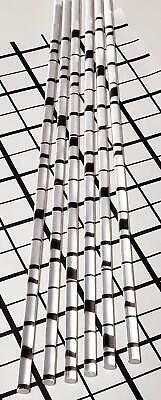 6 Pcs 14 Diameter 12 Long Clear Acrylic Plexiglass Lucite Plastic Rod .25