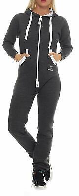 Prinz Luis Damen Jumpsuit Jogging Anzug Trainingsanzug Overall Strampelanzug