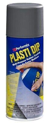 Plasti Dip Gun Metal 11oz Gray Rubber Coating Spray Insulates Moisture Protectio