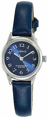 Timex Carriage C2A871, Women's Blue Strap Watch, Blue Dial