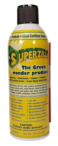 Superzilla Green Wonder Cleans Stainless Steel Leaving It Smudge Free 10.14oz