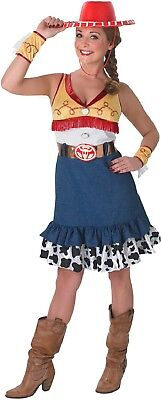 Ladies Toy Story Jessie Cow Girl Wild West TV Book Fancy Dress Costume Outfit ()