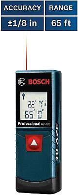 Bosch Glm 20 Compact Blaze 65 Laser Distance Measure