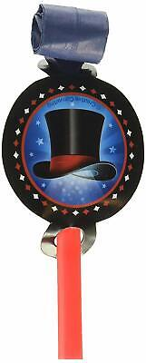 Magic Party Magician Illusion Trick Kids Birthday Party Favor Horns Blowouts](Magician Party Favors)