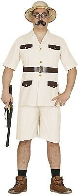 Mens Safari Hunter Zoo Keeper Stag Night Fancy Dress Costume Outfit Stag Do M L](Safari Costume Male)
