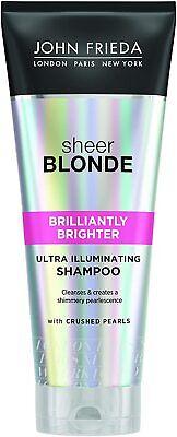 John Frieda Sheer Blonde Brilliantly Brighter Illuminating Shampoo Blonde Hair