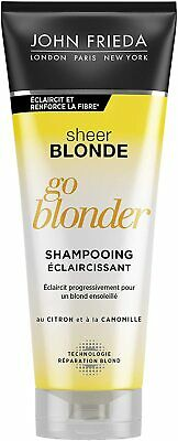 John Frieda Sheer Blonde Go Blonder Lightening Conditioner for Blonde Hair,250ml