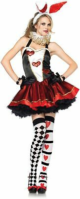 Sexy Tea Party Bunny Alice Wonderland Adult Costume Leg Avenue 83789 xs,s/m, m/l - Alice Bunny Costume
