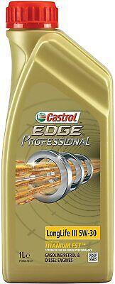 1 Litro castrol edge Profesional Longlife III 5W-30 VW 504 00/507 00
